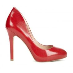 Cameron platform pump - Apple Red