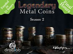 The beloved metal coins return in a new campaign having new, unique designs. Enrich your gaming experience and make your games shine!