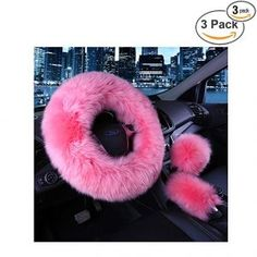 Best Leather Steering Wheel Covers Review (July, 2018) - A Complete Guide Pink Car Accessories, Car Steering Wheel Cover, Atv Parts, Gears, Wool, Leather, Girl Fashion, Ladies Fashion, Gear Train