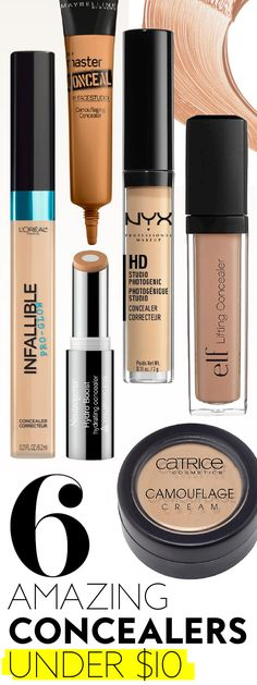 You can cover your dark circles and save money, too. #Concealers #CheapConcealers #MakeupInspiration