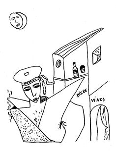 Resultado de imagen para dibujos de lorca marinero