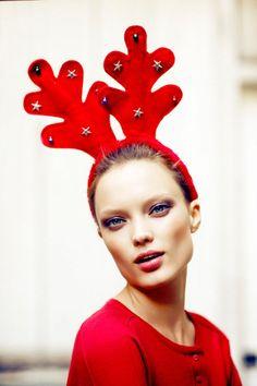 PHOTOS: Deck The Halls With 25 Festive Fashion Editorials   Styleite