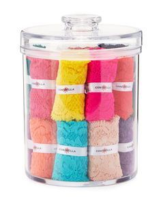 Never Say Never Cutie 25-Piece Thong Cookie Jar Set, Multi by Cosabella at Neiman Marcus.