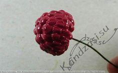 Мастер-класс по изготовлению листьев и ягод малины из фоамирана, подробные фото Raspberry, Berries, Fruit, Paper Flowers, Raspberries, Blackberry