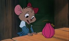 """The Great Mouse Detective""- OMG all I wanted growing up was that wind up ballerina. I was so crushed every time it got destroyed by Ratigan! Kawaii Disney, Cute Disney, Disney Magic, Disney Art, Disney Pixar, Walt Disney, Disney Animated Movies, Disney Movies, Disney Characters"