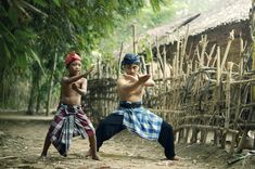 "Practicing ""PENCAK SILAT (Indonesian Martial Art)"" by spyw1ng"