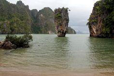 James Bond Island, Ao Phang Nga National Park  Luxury Villa Rentals Koh Samui island at Choeng Mon Beach, Chaweng, Thailand visit http://www.luxuryvillarentalskohsamui.com