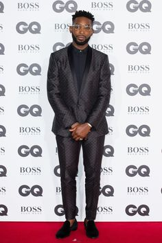 Tinie Tempah aux GQ Men of the Year Awards 2016