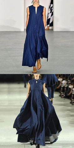 Blue Maxi Dresses - 2020 Fashions Woman's and Man's Trends 2020 Jewelry trends Looks Chic, Looks Style, Dress Skirt, Dress Up, Fashion Dresses, Maxi Dresses, Blue Dresses, Spring Fashion Trends, African Dress