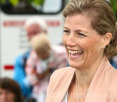 The Countess of Wessex, Patron, Association of Show and Agricultural Organisations, attends the Lincolnshire Show, 20 June 2013