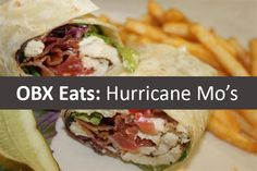 Hurricane Mo's in Kitty Hawk, North Carolina has everything you'd look for and want in a beach themed restaurant on the Outer Banks.