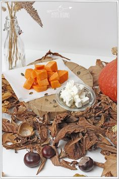 Courge Marrons - Recette d'Automne - Petits Béguins Dairy, Cheese, Halloween, Fall, Gourds, Conkers, Backyard Farming, Kitchens, Autumn