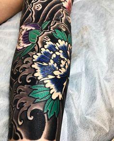 "2,737 Likes, 11 Comments - Japanese Ink (@japanese.ink) on Instagram: ""Japanese tattoo sleeve by @horimitsu.  #japaneseink #japanesetattoo #irezumi #tebori #colortattoo…"""
