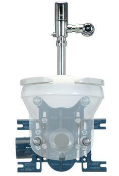 "Zurn Z1201-N EZCarry™ High Performance Water Closet Carrier, Adjustable Horizontal Siphon Jet, 3"" No Hub"