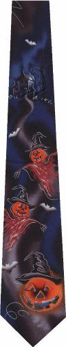 Jerry Garcia Halloween New Novelty Tie Necktie  http://www.yourneckties.com/jerry-garcia-halloween-new-novelty-tie-necktie-3/