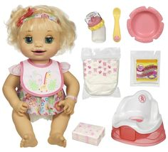 Baby Alive Learns to Potty Toys & Games Muñeca Baby Alive, Baby Alive Dolls, Baby Alive Doll Clothes, Toys For Girls, Kids Toys, Baby Life, American Girl Storage, Baby Doll Nursery, Baby Doll Accessories