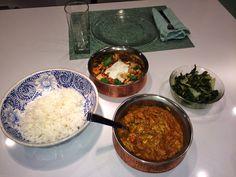 CSA vegetable in indian feast!