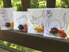 Dinosaur PARTY FAVORS // Good Dinosaur Party // by PastelloRosso