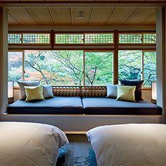 京都・嵐山という特別な場所がもたらす自然と四季の移ろい。