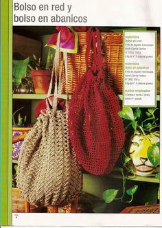 Bolsa de Red de Crochet Patron