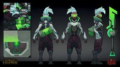 ArtStation - Project Ekko, Oscar Monteon