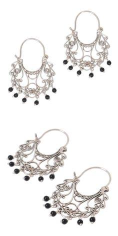 Earrings 110645: Peruvian Blue Opal .925 Sterling Silver ...