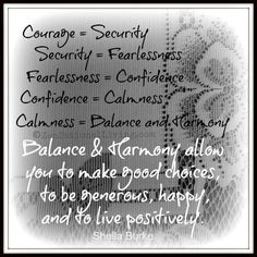 1 courage seurity
