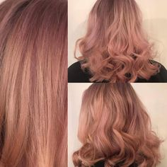ROSE GOLD HAIR 🌸 Want something different? Ideas for festivals//princess hair