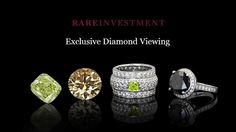 To bring-in the holiday season, on December 2012 Rare Investment hosted a private viewing of the Rare Investment Colored Diamond Collection - the nation's… Black Gold Jewelry, Colored Diamonds, Diamond Earrings, Investing, Bling, Accessories, News, Jewel, Diamond Drop Earrings
