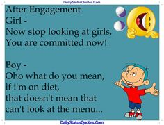 After Engagement  Daily Status Quotes