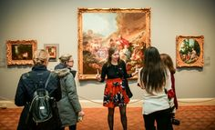 Options for museum-goers are increasingly offbeat as art institutions work to change their staid image.