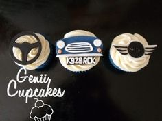 Classic Car Cakes I Would Put A Toy Car On The Road To Avoid