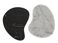 CARRA by Tous Les Trois make a handsome table centrepiece in polished carrara and marquinia marble a pair.