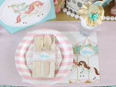 Carousel Birthday Party Ideas | Photo 1 of 27 | Catch My Party