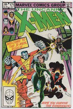 Uncanny X-Men 171  July 1983  Marvel Comics  Grade Fine