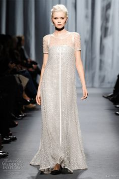 vintage Chanel wedding dresses | Chanel bridal gown inspiration - Spring/Summer 2011 couture collection