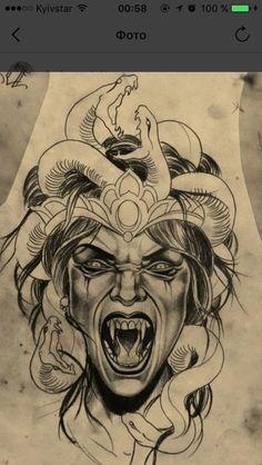 Crazy tattoo art