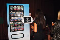 Guests at the ASOS Penthouse in Miami received free swimsuits from a tweet-activated vending machine.