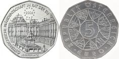 History redefined: AUSTRIAN EU PRESIDENCY 5 EURO COMMEMORATIVE COIN- ...