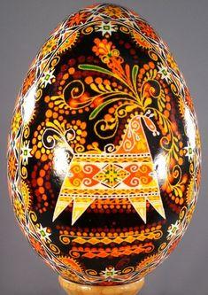 Nous avons expliqué quelques méthodes de création de pyssanka (œuf de Pâques décorés) la semaine dernière. Pourtant les œufs sont décorés non seulem