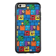 Kawaii Avengers In Colorful Blocks OtterBox iPhone 6/6s Plus Case   diy marvel, shocker marvel, hyperion marvel #marvels #marvelnerd #marvelrp, 4th of july party Shocker Marvel, Thanos Marvel, 6s Plus Case, 4th Of July Party, Synthetic Rubber, Apple Iphone 6, Protective Cases, Birthday Cards, Avengers