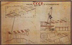 Soviet pavilion at the International Exposition of Modern Industrial and Decorative Arts, Konstantin Melnikov, Paris 1925