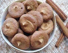 Chai-Spiced Meringues.