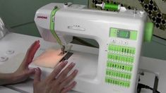 How to Use a Janome DC2012 Sewing Machine
