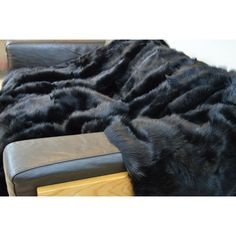 Fur Throw, Soft Furnishings, Luxury Homes, Home Accessories, Blanket, Luxurious Homes, Blankets, Upholstery, Luxury Houses