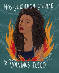 ilustración feminista fuego brujas Grl Pwr, Tabata, Mole, Girls Be Like, Wicca, Revolution, Motivation, Ideas, Home