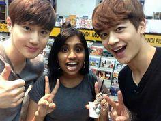 Minho & Suho from India ♪