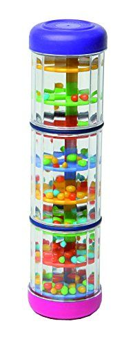 Musical Toys MP-200 8-Inch Mini Rainmaker Shaker Hohner Kids (Discovery Toys makes one too, but it's more expensive) http://www.amazon.com/dp/B000CBURPU/ref=cm_sw_r_pi_dp_hB8nwb14DDKJH