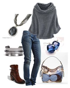"""Saturday in the Park"" by bbricker39 ❤ liked on Polyvore featuring Nordstrom, Silpada, Coach, Vince Camuto, Rich & Royal, Hayward, skinny jeans, silpada, hammered cuff bracelet and coach purse"