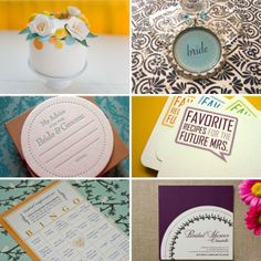 the recipe cards or advice cards are a cute idea...    bridal shower ideas (3) : Bridal Shower Ideas
